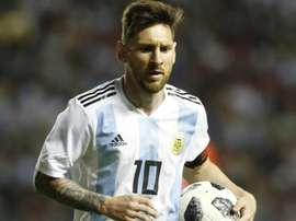 Sampaoli hails Messi, Pavon combination.