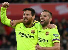 Alba had high praise for his side's defeated opponents. GOAL