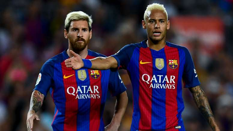 Lionel Messi and Neymar are one team. Goal