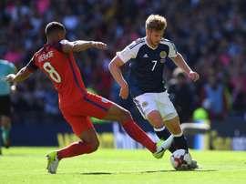 Atacante do Tottenham 'gelou' a torcida escocesa. Goal