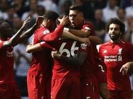 5ème victoire de Liverpool. Goal