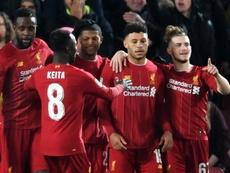 Les Reds écartent les Gunners au bout d'un match fou. AFP