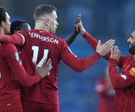 Salah voit double pour les Reds. GOAL
