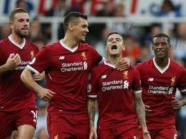 Et c'est match nul pour Liverpool. Goal