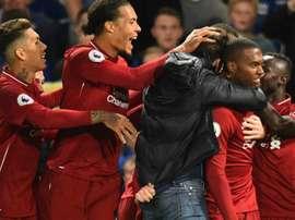 Liverpool a égalisé dans les derniers instants. Goal