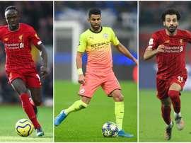 Mahrez, Mané e Salah sono i tre finalisti per il Pallone d'Oro africano. Goal