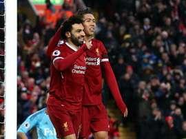 Liverpool terá que aprender a jogar sem Salah e Firmino no maior desafio da temporada. Goal