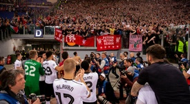 Liverpool's fans were praised for their conduct. GOAL