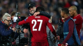 Klopp says the fightback over Barca was his highlight of the year. GOAL