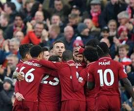 À nouveau un carton plein de Liverpool. Goal