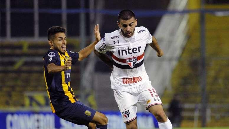 Liziero no São Paulo: promessa, na mira do Milan, ainda não decolou no Tricolor