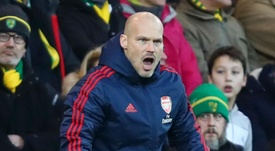 Arsenal are considering not keeping Ljungberg in charge for long. GOAL