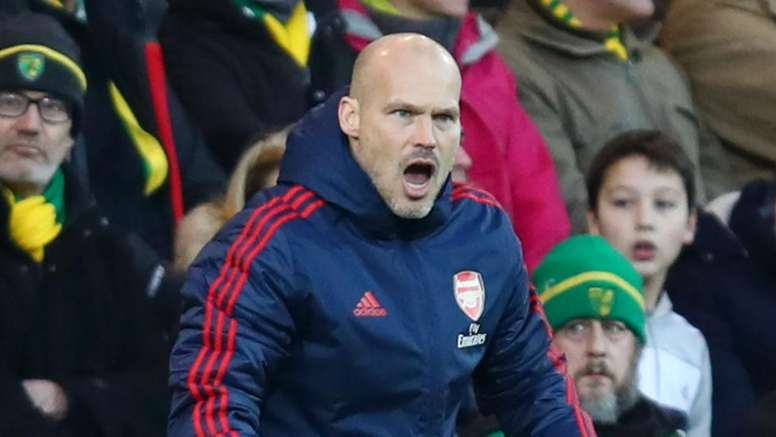 Ljungberg took positives from the draw at Norwich despite failing to win. GOAL