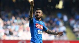 Insigne's Napoli will hope to stop Ronaldo this season. GOAL
