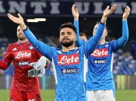 Insigne guides Napoli past Lazio in action-packed Coppa quarter-final