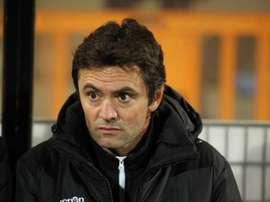 Nouveau sélectionneur de l'équipe de France Espoirs, Sylvain Ripoll. Goal