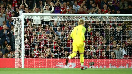 Karius was grateful for the reception he received from the fans. GOAL