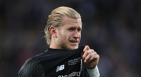 Karius congratulated Liverpool on them winning the Champions League. GOAL