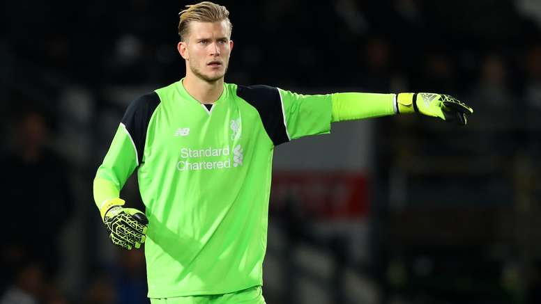 Loris Karius was involved in a Twitter feud with Gary Neville. Goal