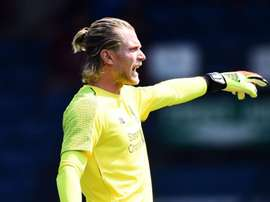 Karius was jeered by sections of the fans. GOAL