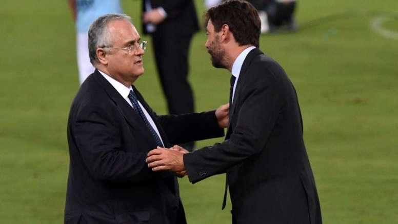 Serie A sempre più a rischio, Agnelli a Lotito