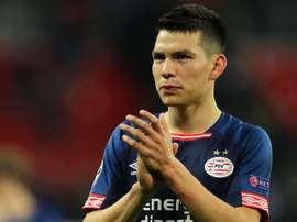 Lozano arrives in Rome ahead of likely Napoli switch
