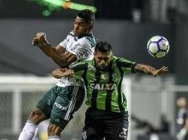 América-MG 1 x 2 Palmeiras: Verdão vence fora e leva a vantagem do empate para o jogo de volta