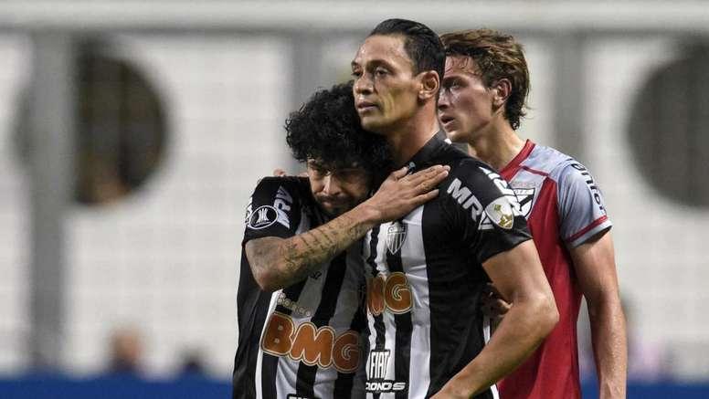 Atlético-MG 3 x 2 Danubio: classificação sofrida