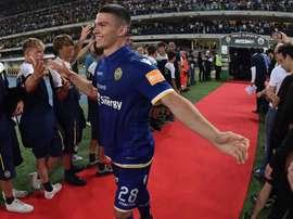 L'attaccante slovacco dell'Hellas Verona Tupta. Goal