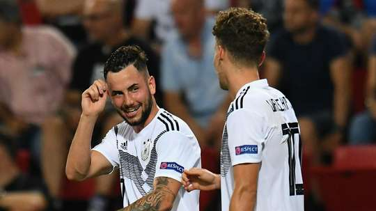 Luca Waldschmidt and Marco Richter were part of a hugely successful Germany team. GOAL