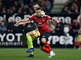 Lucas Deaux rejoint Nîmes jusqu'en 2021. AFP
