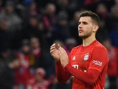 Lucas Hernandez apprécie de jouer à Munich. GOAL