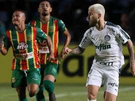 Apesar de vitória, Lucas Lima e reservas do Palmeiras não aproveitam oportunidade.
