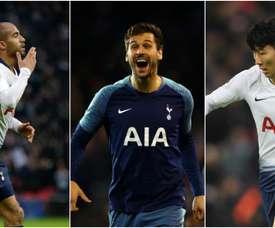 Kane injury: Tottenham's options. Goal