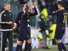A estreia de Lucas pelo Tottenham. Goal