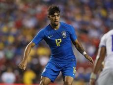 Lucas Paqueta Brazil El Salvador Friendly. Goal
