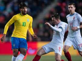 Le Brésil a battu la République Tchèque. Goal