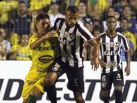 Com Erik e golaço de Alex Santana, Fogão avança na Sul-Americana. Goal