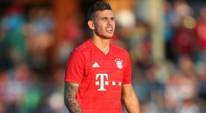Hernandez feeling '100 per cent' after making Bayern debut in 23-0 rout