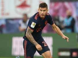 Pavard speaks on Bayern-France row over Hernandez. GOAL
