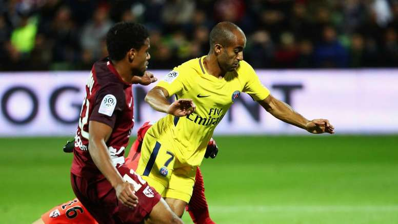 Ranieri is resigned to being snubbed by Lucas Moura. GOAL