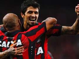 Lucho Gonzalez Atletico-PR Universidad Catolica Copa Libertadores 07032017