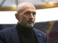 Spalletti has been embroiled in a row with Mauro Icardi for weeks now. GOAL