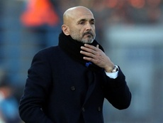 Luciano Spalleti is happy with result. GOAL