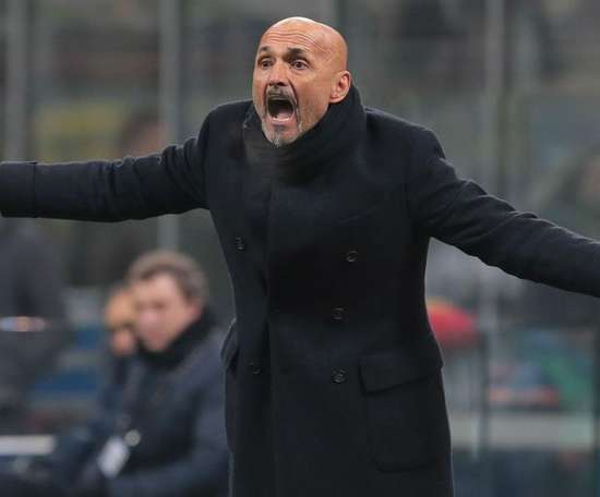 Inter players are behind me, insists under-fire Spalletti.