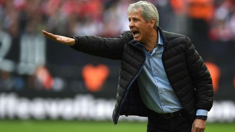 Lucien Favre, entraîneur de Nice. GOAL