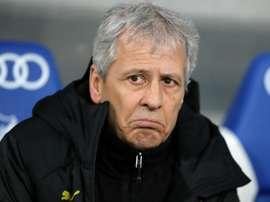 Favre frustrated after 'stupid' Dortmund's late collapse. AFP