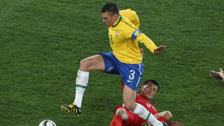 Recém aposentado, Lúcio repassa carreira. Goal