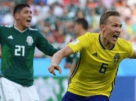 La Suède étrille le Mexique. AFP