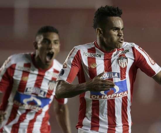 Flamengo faz sondagem por destaque do Junior Barranquilla na Sul-Americana